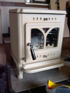 7kW BUTLEY, CREAM MULTI FUEL WOODBURNING STOVE £449.99