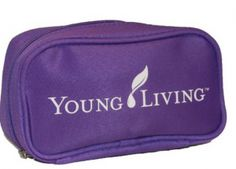 Essential Oil Travel Bag w Young Living logo - Renaissance Mama