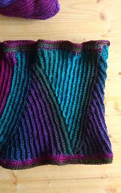 Crochet PATTERN neckwarmer cowl single crochet di Hookloopsarah