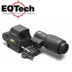 EOTech MPOII Complete System, Includes EXPS3-4 HWS with G23 Magnifier and Flip to Side Mount with Quick Detach