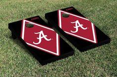 Cornhole Game Set - University of Alabama Crimson Tide Diamond Version - 23989