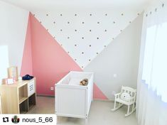 Baby Bedroom, Baby Room Decor, Bedroom Wall, Girls Bedroom, Bedroom Decor, House Furniture Design, Home Furniture, Apartment Makeover, Big Girl Rooms