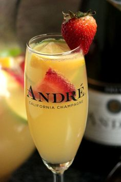 Champagne Sangrias