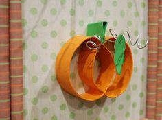 Paper Crafts: Paper Pumpkin Crafts
