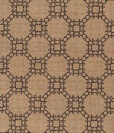"""Inspired by an antique quilt, this quilt is made using 1"""" half square triangles with our scrappy blues and a single tan print."""