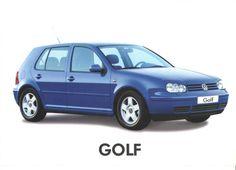 1999 Volkswagen Golf Mk4 Turkish Brochure - Catalog Page 1/2 - 1999 Volkswagen Golf Mk4 Türkçe Broşür - Katalog Sayfa 1/2 - VW Volkswagen Golf, Over The Years, Van, Vehicles, Cars Motorcycles, Rolling Stock, Vans, Vehicle, Vans Outfit