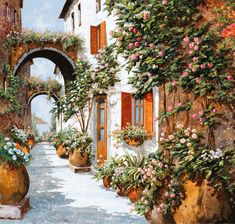 Archi E Orci by Guido Borelli - Archi E Orci Painting - Archi E Orci Fine Art Prints and Posters for Sale
