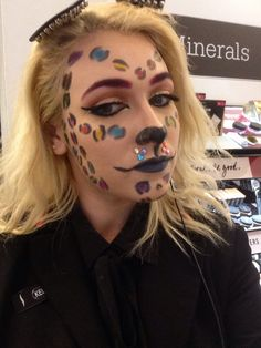 Rainbow Cheetah Realness by Nanuet. Tag your pics with #Halloween and #SephoraSelfie on Sephora's Beauty Board for a chance to be featured!