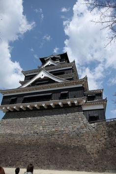 Kumamoto Castle Kumamoto Castle, Japanese Castle, Japanese Culture, Cathedral, Louvre, Around The Worlds, Mansions, Landscape, Architecture