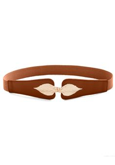 Leaf for the Day Belt in Cognac, #ModCloth