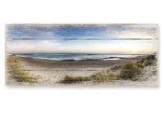 Holzbild Strandpanorama - Panorama