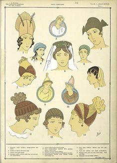 The fine draperies of the Greco-Roman costumes./ Paul Louis de Giaffie... ([1926-1927])