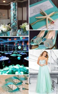 Under the sea/beach theme for #prom