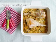 Turkey Drumstick With Pilaf Recipe | Turkish Style Cooking