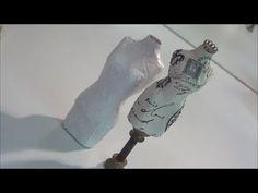 DIY Paper Mache Dressform Tutorial - YouTube