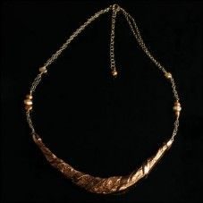 Handcrafted Copper Wrap Pendant Necklace $187 http://www.jewelofhavana.com/store/c18/Copper_Jewelry_Collection.html