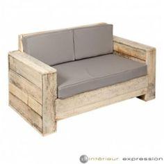 Rustic Wood Furniture, Basement Furniture, Pallet Furniture, Outdoor Furniture, Furniture Ideas, Versailles, Adirondack Chair Plans, Pallets Garden, Pallet Gardening