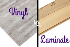 Some of the most misunderstood options on the flooring market are laminate flooring &vinyl flooring. Learn the difference with Laminate vs Vinyl Flooring.