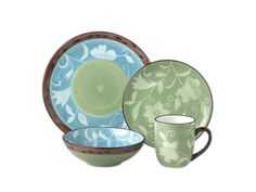 32-pc. Patio Garden Dinnerware Set by Pfaltzgraff