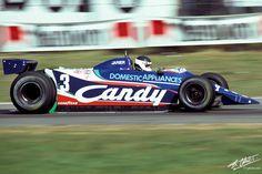 1980 GP Belgii (Jean Pierre Jarier) Tyrrell 010 - Ford