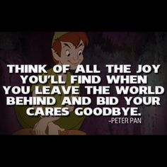 And when you are with Peter Pan <3 haha