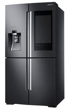Samsungs nye kjøleskap kommer med en diger berøringsskjerm