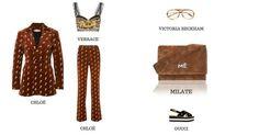Milate prémium kézzel gyártott női táska Victoria Beckham, Versace, Chloe, Gucci, Polyvore, Image, Fashion, Moda, Fashion Styles