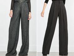 Zara 2015/16 - Sonbahar Kış Bol Paça Pantolon Modelleri http://www.yesiltopuklar.com/kis-icin-stil-onerileri.html
