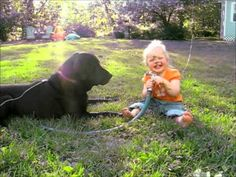 Mama Caught Her Little Girl Doing This To The Dog In The Backyard. The Result: Precious | Sun Gazing