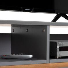 Lowboard TIBOR Kiefer massiv in grau Kiefer, Flat Screen, Loft, Storage, Furniture, Home Decor, Customer Support, Nordic Style, Tv Cupboard