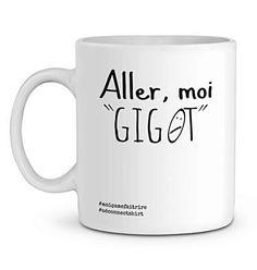 Mug En Céramique - Aller Moi Gigot - Zé Connect Shirt