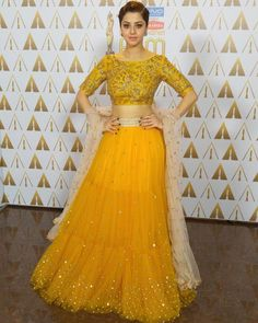 2eb669c20a Yellow net Lehenga Choli. Dandiya Dress, Chania Choli, Yellow Lehenga,  Mehendi Outfits