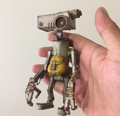 Robots Steampunk, Steampunk Gadgets, Alien Design, Robot Design, Waste Art, Robot Animal, Welding Art Projects, Vintage Robots, Arte Robot