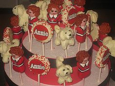 Annie 3rd Birthday, Birthday Parties, Birthday Ideas, Cake Pop Favors, Creative Cakes, Cake Pops, Party Planning, Annie, Ronald Mcdonald