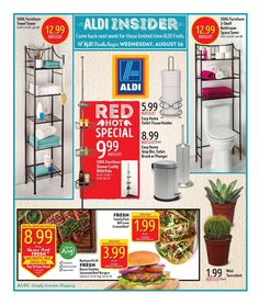 Aldi In Store Ad August 16 - 22, 2017 - http://www.olcatalog.com/grocery/aldi-weekly-ad.html