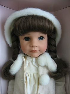 GOTZ DOLL - NEVER REMOVED FROM HER BOX - 2008 - NUMBERED - BEAUTIFUL FACE