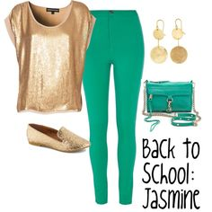 """Back to School: Jasmine"" by justjassitup on Polyvore"