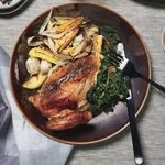 Roast Chicken with Potatoes and Onions