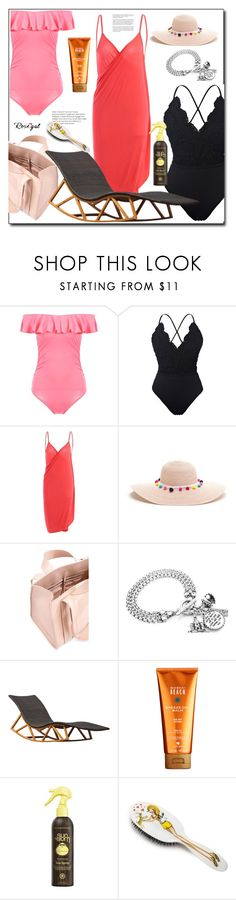 """""""Take me to the beach"""" by azra-90 ❤ liked on Polyvore featuring Corto Moltedo, Whiteley, Alterna, Sun Bum and Rock & Ruddle"""