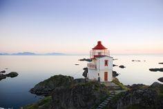 Lighthouse BnB in Northern Norway in Bø i Vesterålen | Visiwa Private Islands