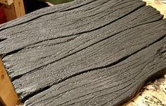 Fake Wood From Foam Boards Foam Board Crafts, Set Design Theatre, Prop Design, Stage Design, Booth Design, Design Ideas, How To Make Foam, Fake Rock, Foam Armor