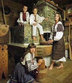 The pich (peech) is a clay, wood-burning oven which is the traditional centerpiece of the Ukrainian villages cottage. Festivals Around The World, Cultural Diversity, Folk Fashion, My Heritage, Eastern Europe, Around The Worlds, Culture, Costumes, History