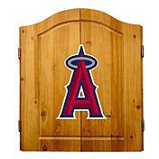 Los Angeles Angels of Anaheim Dart Cabinet