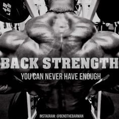 Back strength: you can never have enough. Had Enough, Powerlifting, Gym Motivation, Bro, Bodybuilding, Motivational, Strength, Train, Weight Lifting