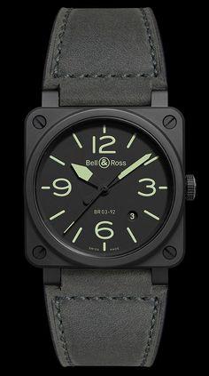 TimeZone : Industry News » N E W M o d e l - Bell & Ross BR 03-92 NIGHTLUM