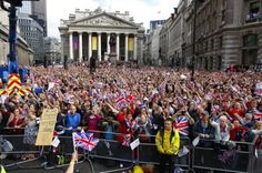 Brilliant Olympic parade... We are so excited to be part of it all here at Kudos!