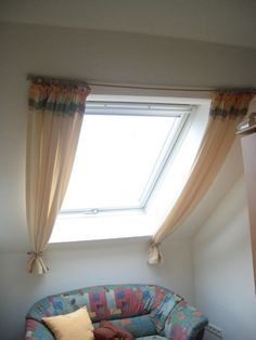 Curtains over curtains curtains for kitchens roof . - # roof # for # curtains . Curtains over curtains curtains for kitchens roof … – roof # Kitchen Skylight Covering, Skylight Shade, Skylight Window, Roof Window, Window Table, White Round Tables, Round Table And Chairs, No Sew Curtains, Cool Curtains