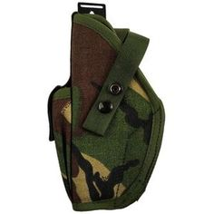 New | Army & Outdoors  British Army Other Arms DPM Holster A genuine British Army Browning... Army Combat Uniform, M65 Jacket, Waterproof Poncho, Tree Patterns, First Aid Kit, British Army, Browning, Military Fashion
