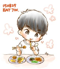 Eat Jin is the cutest thing I've ever seen in my lifeu