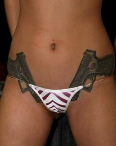 10 Best Gun Tattoos Design For Women